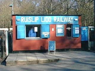 Old Railway Station at Ruislip Lido