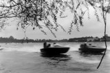 Speedboats at Ruislip Lido